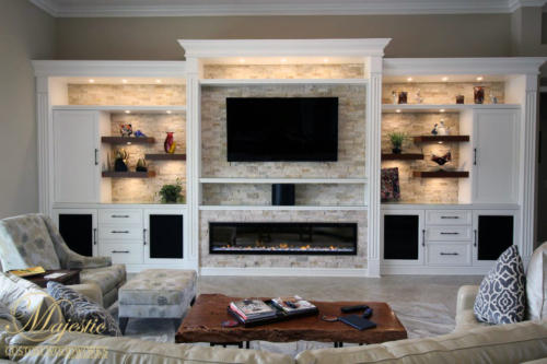 Majestic Custom Fireplace